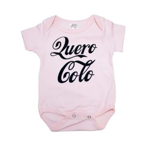 Body Bebê Quero Colo Nanny Baby Rosa