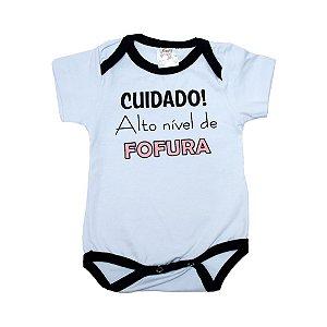 Body Bebê Alto Nível de Fofura Nanny Baby Branco
