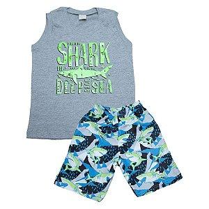 Conjunto Infantil Shark Molekada Mescla