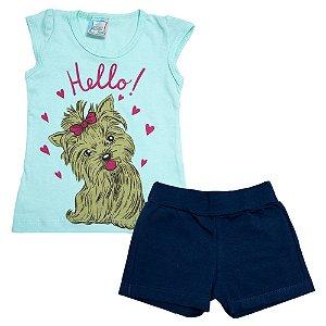 Conjunto Infantil Dog Inova Kids Verde