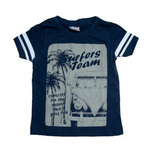 Camiseta Infantil Kombi Inova Kids Marinho
