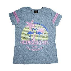 Blusa Juvenil Califórnia Difusão Mescla