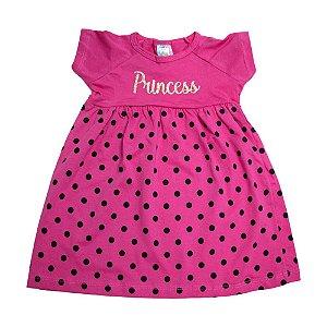 Vestido Infantil Princess Inova Kids Pink