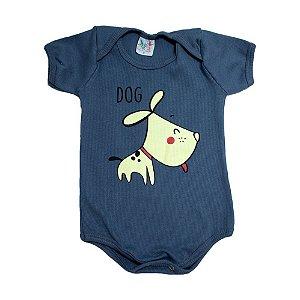 Body Bebê Dog Jeito Infantil Chumbo