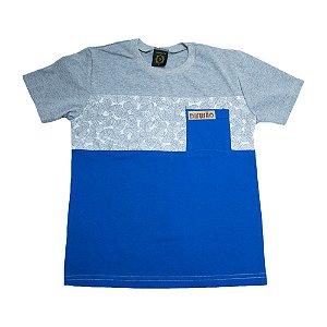 Camiseta Juvenil Folhagem Difusão Mescla