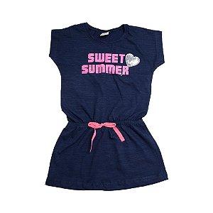 Vestido Infantil Sweet Summer Ralakids Marinho