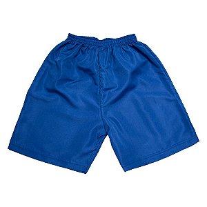 Bermuda Infantil Tactel Lisa Azul Jeito Infantil