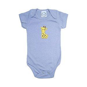Body Bebê Girafa  Lolita Cinza