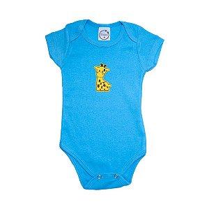 Body Bebê Girafa  Lolita Azul