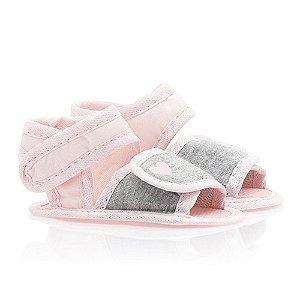 Sandália Bebê Coração Baby Gut Mescla