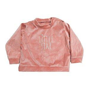 Casaco Bebê  Little Star Baby Gut Rosê