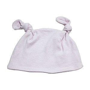 Touca Bebê Com Orelhinhas Baby Gut Rosa