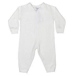 Macacão Bebê Soft Pérola