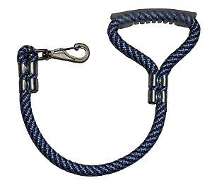 Guia de corda - azul e branco