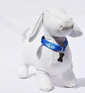 Coleira p - azul my dog