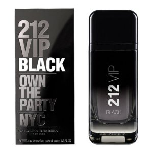 Perfume Carolina Herrera 212 VIP Black Masculino 100ml