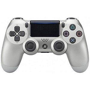 Controle Sony Dualshock PS4 Prata