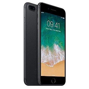 Iphone 7 plus 256GB preto matte semi-novo