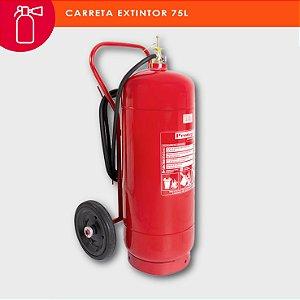 Extintor de incêndio água pressurizada 75L