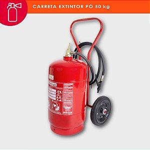 Extintor de incêndio pó químico ABC 50kg