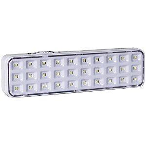 Luminária de segurança autônoma em LED