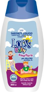 Sabonete Líquido Lorys Baby Passiflora 200ml