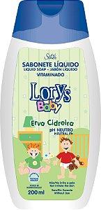 Sabonete Líquido Lorys Baby Erva Cidreira 200ml