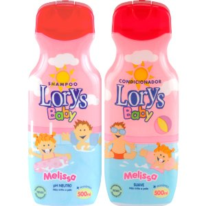 Kit Lorys Baby Melissa Sh+Cd