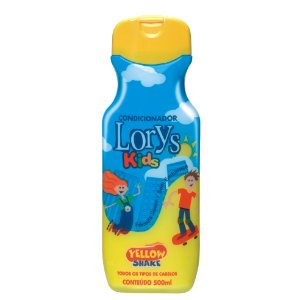 Condicionador Lorys Kids Yellow Shake 500ml