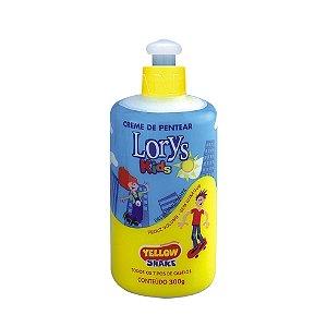 Creme Para Pentear Lorys Kids Yellow Shake 300G