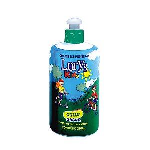Creme Para Pentear Lorys Kids Green Shake 300G