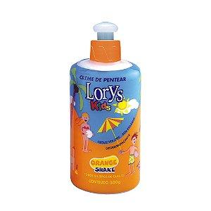 Creme Para Pentear Lorys Kids Orange Shake 300G