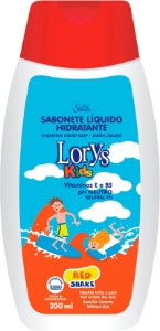 Sabonete Líquido Lorys Kids Red Shake 200 ml
