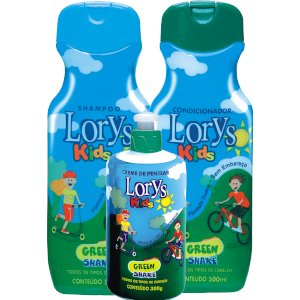 Kit Lorys Kids Green Sh+Cd+Cr