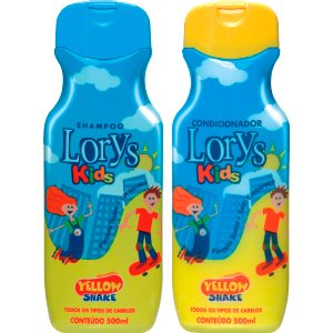 Kit Lorys Kids Yellow Sh+Cd