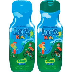 Kit Lorys Kids Green Sh+Cd
