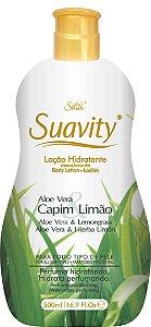 Loção Deo Hidratante Suavity Aloe Vera E Capim Limão 500ml