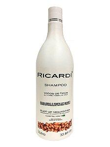 Shampoo Ricardi Oleo Macadamia 1L