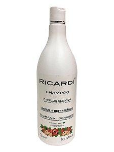 Shampoo Ricardi Guarana e Gengibre 1L