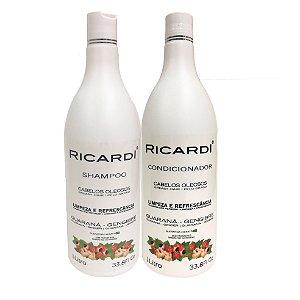 Kit Ricardi Shampoo e Condicionador Guarana 1L
