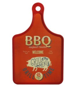 Tabua decorativa BBQ Home