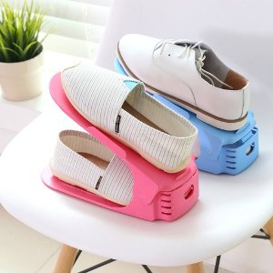 Kit organizador de calçados com regulagem