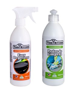 KIT Easy Degreaser Limpador de Superficies + Limpador de Churrasqueiras 500ml