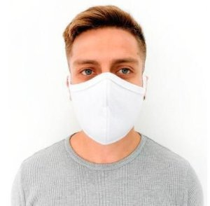 Mascara de Proteção 100% Poliéster Kit Com 10