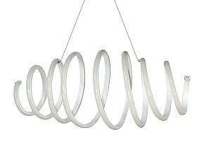 Lustre Candelabro Pendente Moderno Criativo Espiral