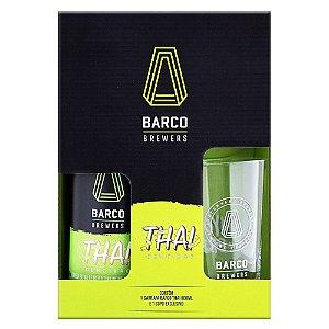 Kit Barco Thai Weiss 600ml + copo