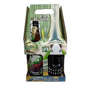 Kit Roleta Russa IPA 500ml + copo com pulseira.
