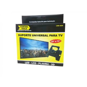 Suporte Tv Reforçado Lcd/plasma/led De 10 A 71 Fertak