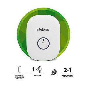 Repetidor Portátil Wi-Fi Intelbras 300 Mbps Iwe 3000n Branco