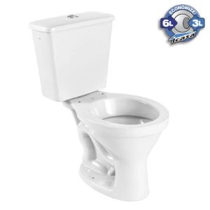 Vaso sanitário + caixa acoplada